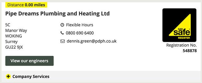 Landlord Certificate Surrey