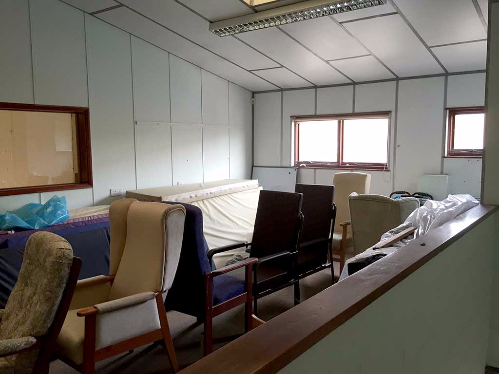 Pipe Dreams new office space before refit