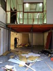 The week the mezzanine came out