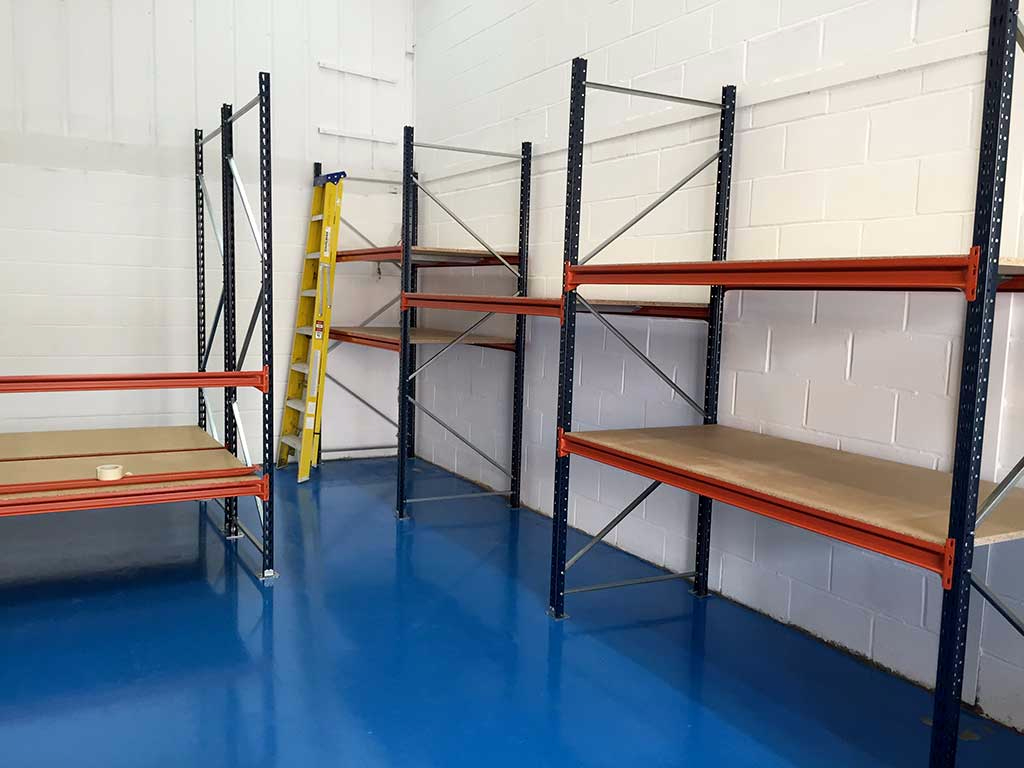 Brand new shelving units